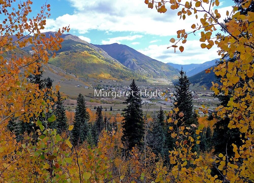Overlooking Silverton, Colorado, USA by Margaret  Hyde