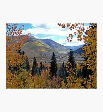 Overlooking Silverton, Colorado, USA Photographic Print