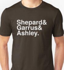 Mass Effect Names - 4 Unisex T-Shirt
