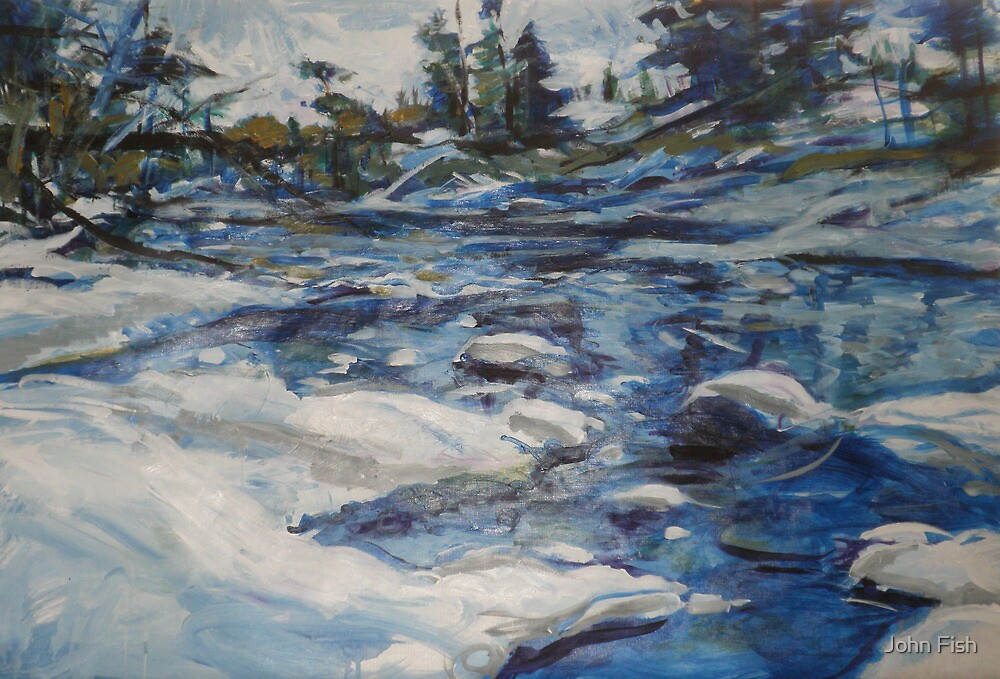 By Water By Snow by John Fish