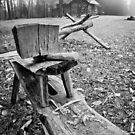 Worker's Bench at The Fort by Jay White