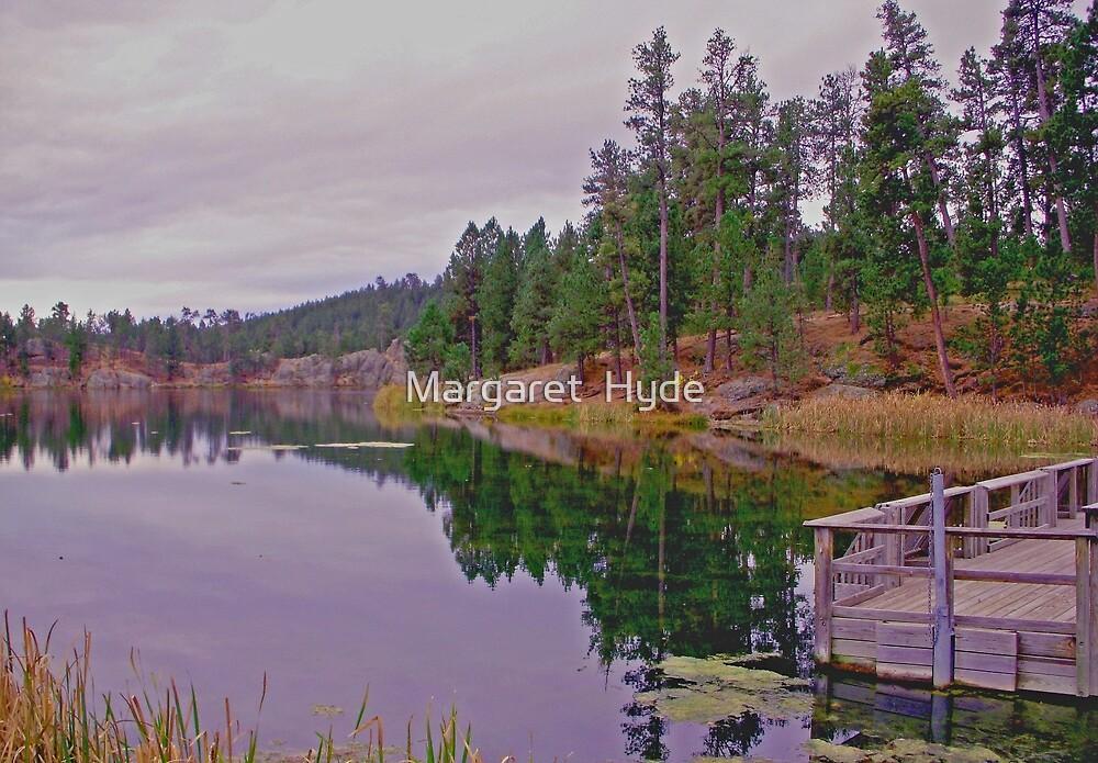 Stockade Lake, South Dakota by Margaret  Hyde
