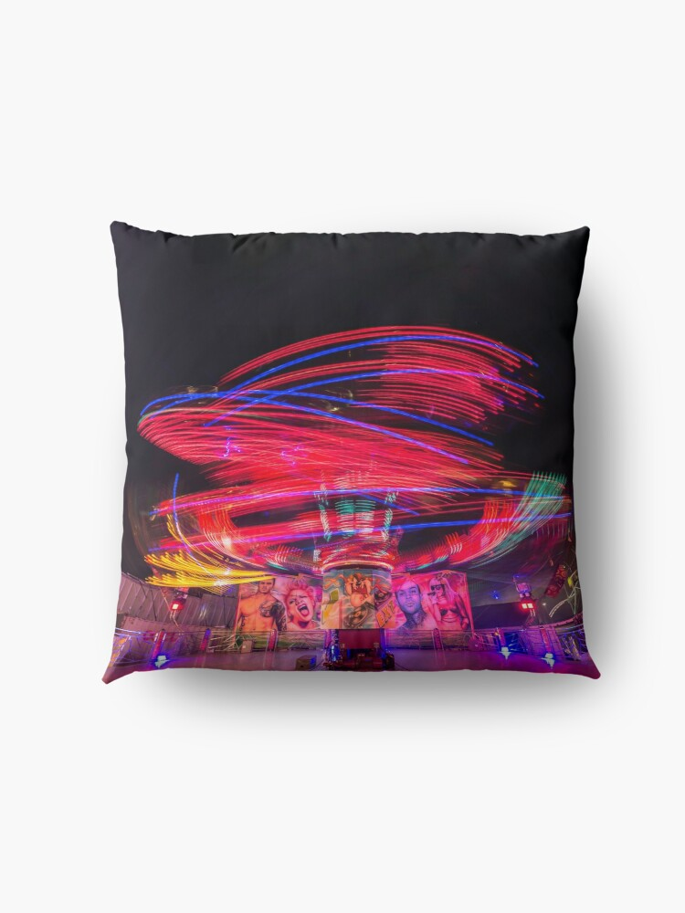 Alternate view of Night Ride II Floor Pillow