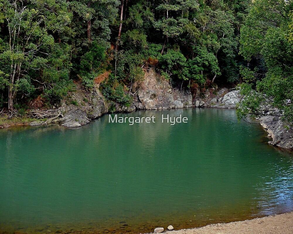 Currumbin Rock Pool, Queensland, Australia by Margaret  Hyde