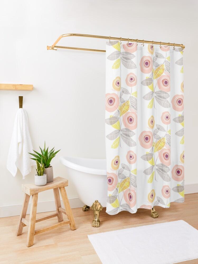 Alternate view of Sweet Memories  Shower Curtain