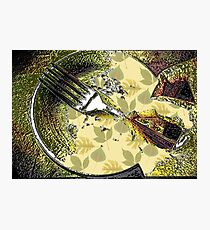 Eating Healthy Photographic Print