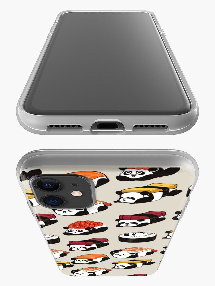 Alternate view of SUSHI PANDA iPhone Case & Cover