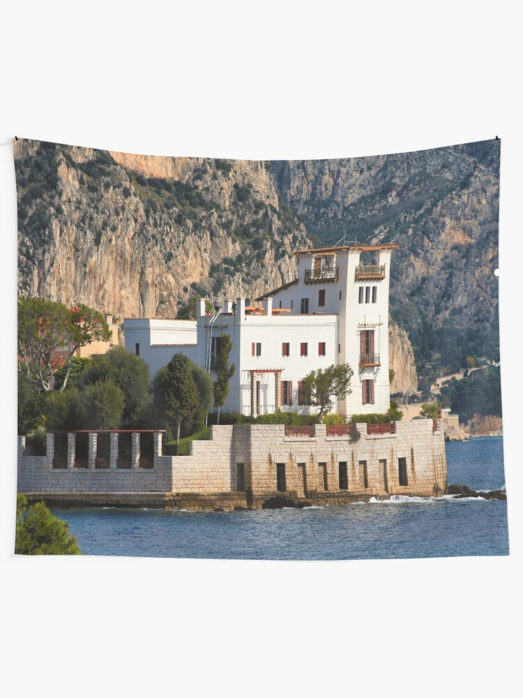 Alternate view of Greek romance Wall Tapestry