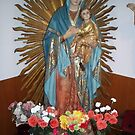 Blessed Mother and the chip jesus by VINCENT CUSUMANO