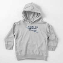 If you think... Toddler Pullover Hoodie