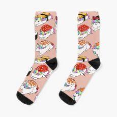 Sushi Unicorn Socks