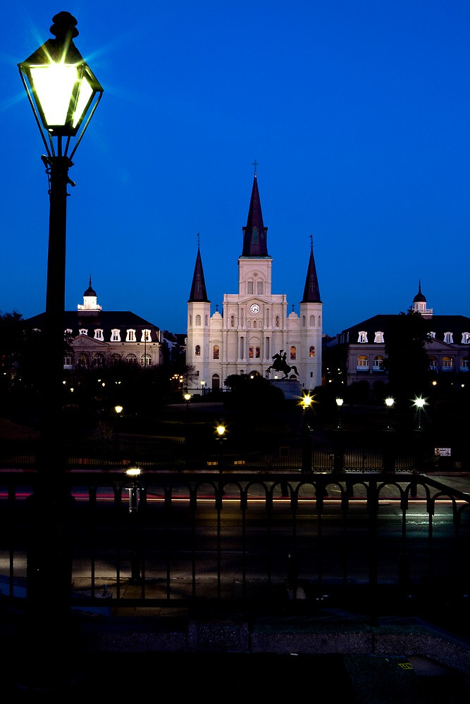 New Orleans : St. Louis Cathedral by cjnphotos