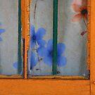 yellow window fancy curtain by picketty