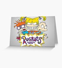 Rugrats - Angelica, Chuckie and Tommy Greeting Card