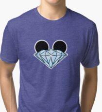 Diamond Ears Color Tri-blend T-Shirt