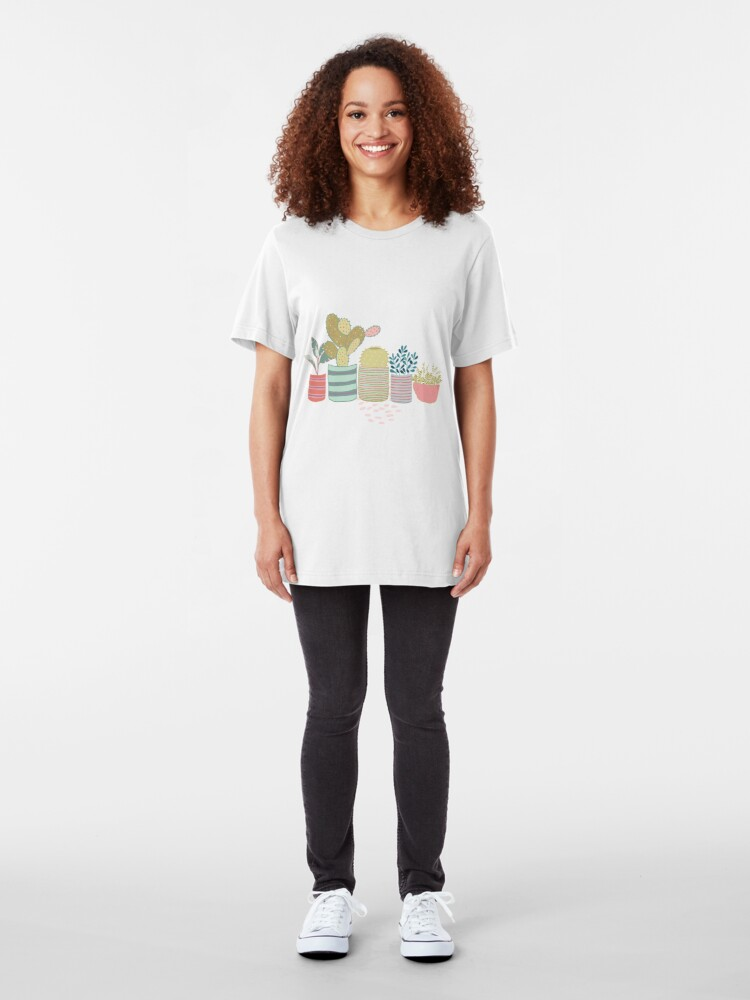 Alternate view of Cactus Toss Slim Fit T-Shirt
