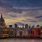 London cityscape by gabriellaksz