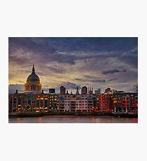 London cityscape Photographic Print
