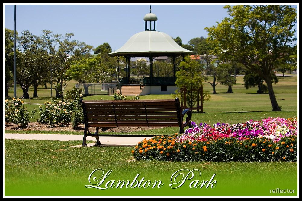 Lambton Park - Newcastle by reflector