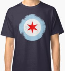 Chicago Mod Distressed Classic T-Shirt