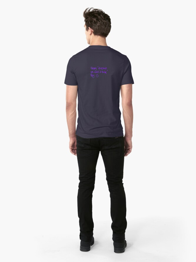 Alternate view of Happy...whatever day... Slim Fit T-Shirt