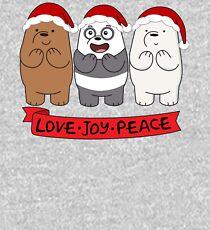 We Bare Bears Love Kids Pullover Hoodie