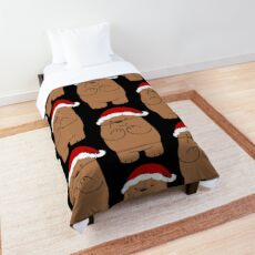 Grizzly Xmas Comforter