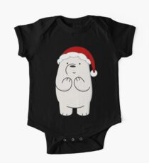 Ice Bear Short Sleeve Baby One-Piece
