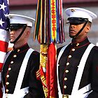 Marine Corps Color Guard by Troy Gooch