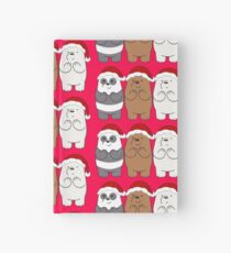 We Bare Bears Xmas Hardcover Journal