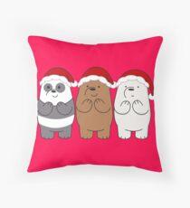 We Bare Bears Xmas Floor Pillow