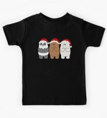 We Bare Bears Xmas Kids T-Shirt