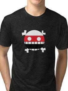 Face and Crossbones Tri-blend T-Shirt