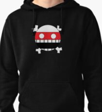 Face and Crossbones Pullover Hoodie