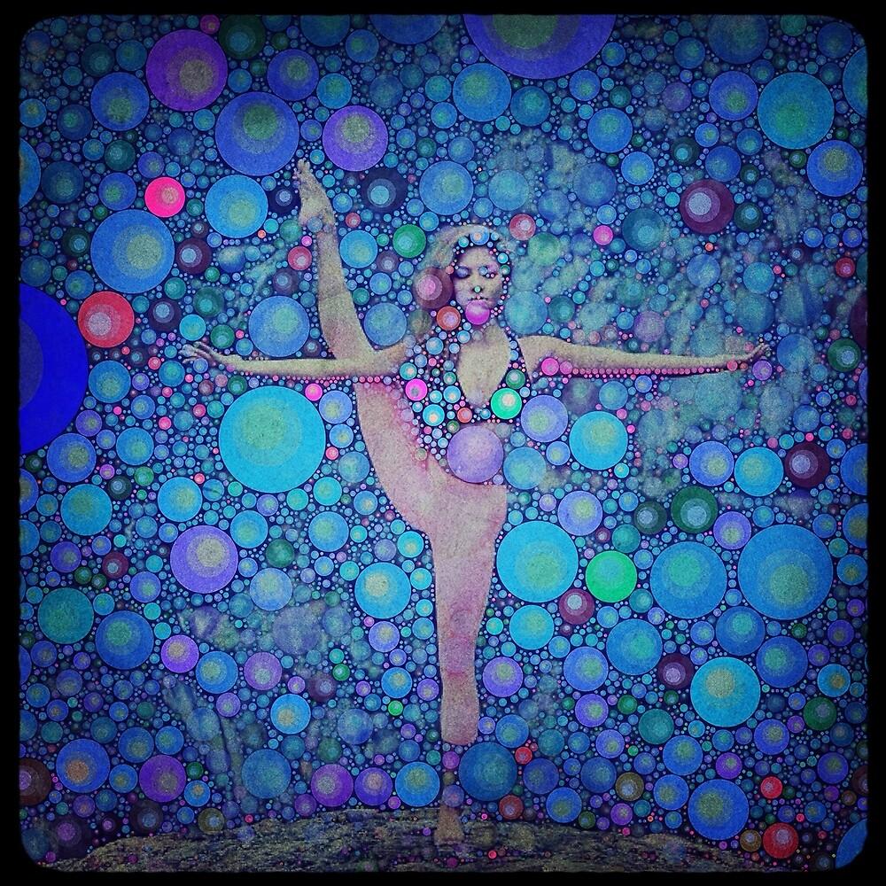 Yoga art 14 by John Dalton