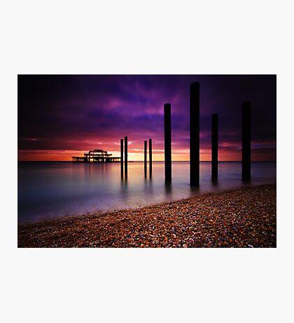West Pier Brighton Photographic Print