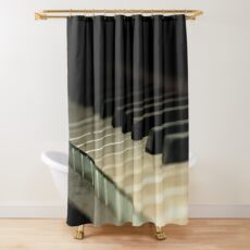 Vintage Dusty Piano Shower Curtain
