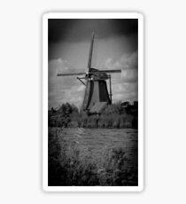 Windmill at Kinderdijk Sticker