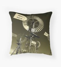 Mechanoid Madness - Metal Monster Menagerie 3 Throw Pillow