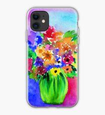 Bright Bouquet iPhone Case