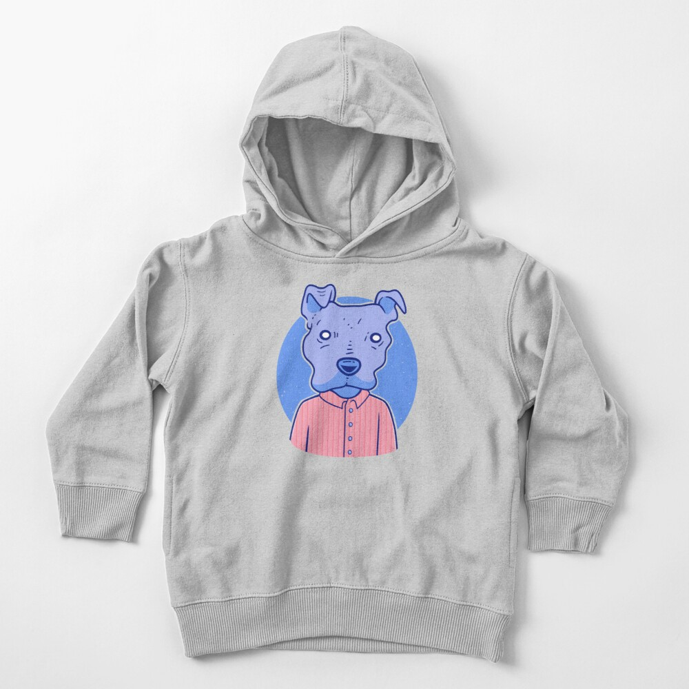 A Very Good Boy Toddler Pullover Hoodie