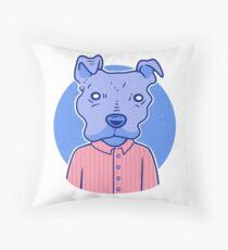 A Very Good Boy Throw Pillow