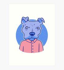 A Very Good Boy Art Print