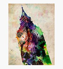 London Big Ben Urban Art Photographic Print
