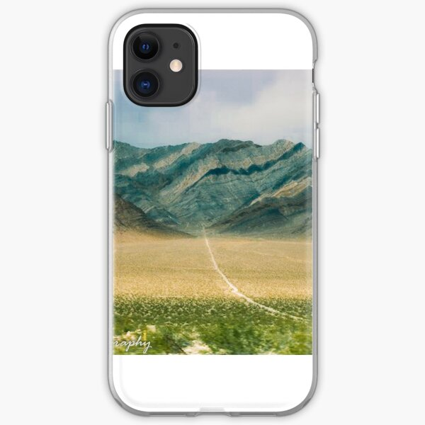 A Long Road to Nowhere iPhone Soft Case