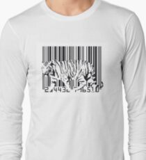 Tiger Barcode Long Sleeve T-Shirt