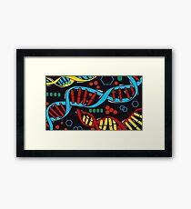 Cosima Laptop Pattern // Orphan Black Framed Print