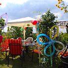 Birthday Party in the Garden by vbk70