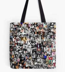 Elvis presley collage Tote Bag