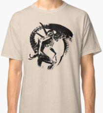 Alien Black & White Classic T-Shirt